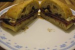 derryX Cooks: Ham, Provolone, and Balsamic Sandwich