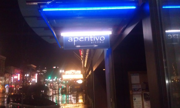 Aperitivo at night