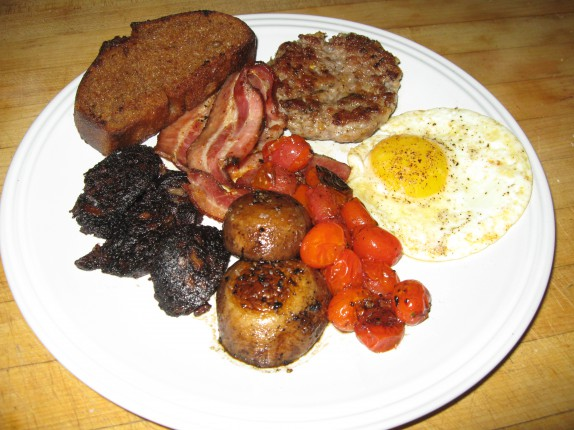 Almost proper English breakfast