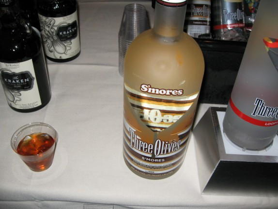 Three Olives Brand Smores Vodka (not good)