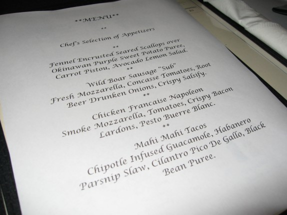 Jerry and Cassie menu at Illium