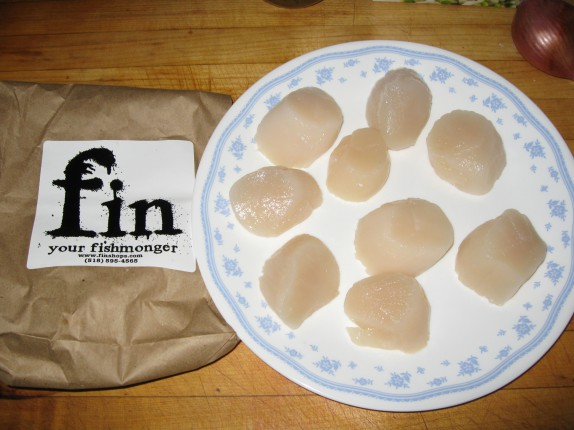 Scallops from Fin