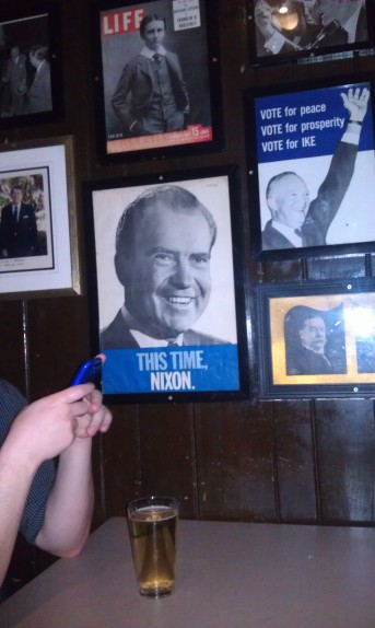 On the wall at McGeary's