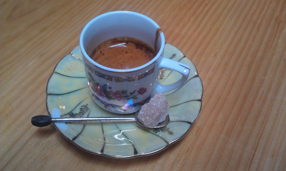 Espresso from Charles F. Lucas Confectionery & Wine Bar in Troy