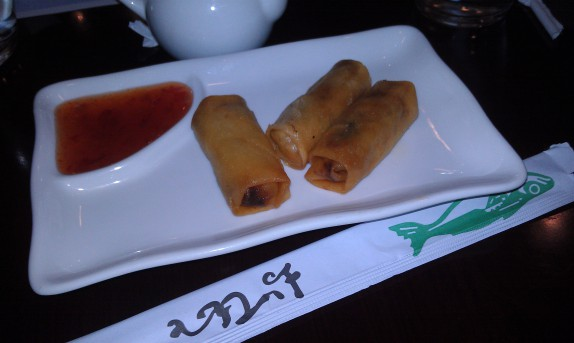 Complimentary Spring Rolls