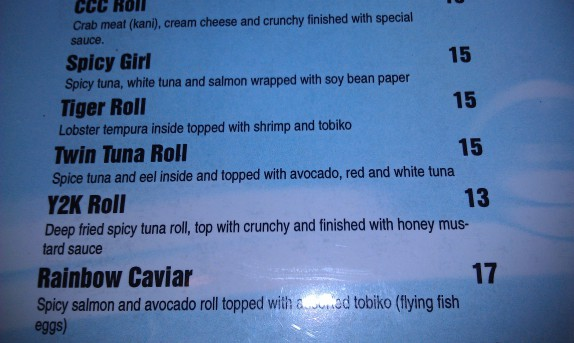 Twin Tuna Roll