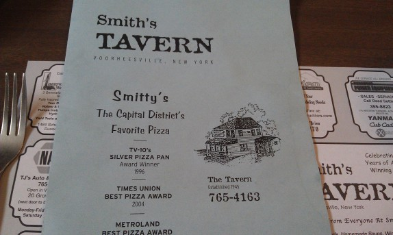 Smith's Tavern Menu