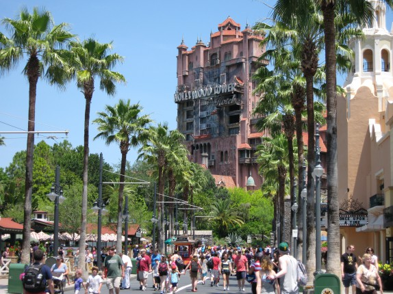 No, we didn't do the Tower of Terror.