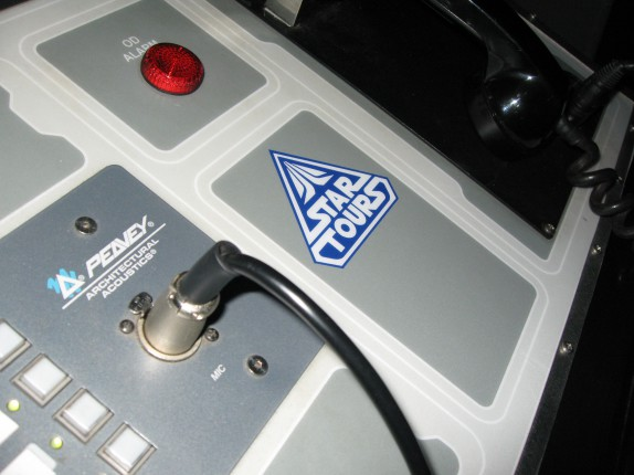 Star Tours Console