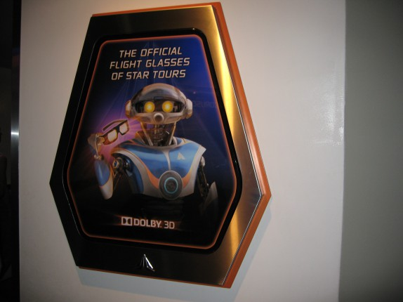 Funny sign after Star Tours