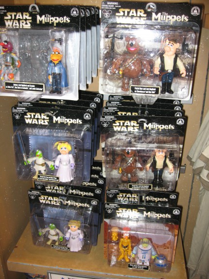Muppets/Star Wars action figures