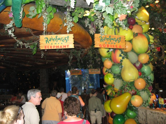 Rainforest Cafe interior