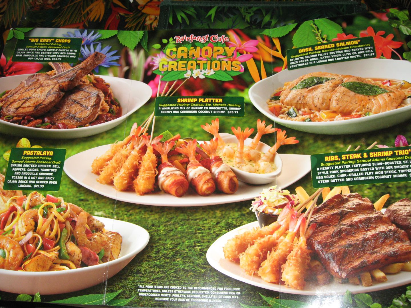photograph regarding Rainforest Cafe Printable Coupon identified as Rainforest restaurant downtown disney discount coupons 2018 - Palmetto