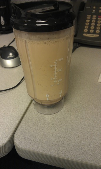 Latte Frappe Protein Shake