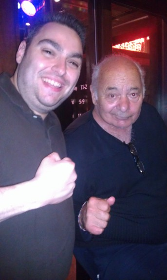 derryX and Burt Young