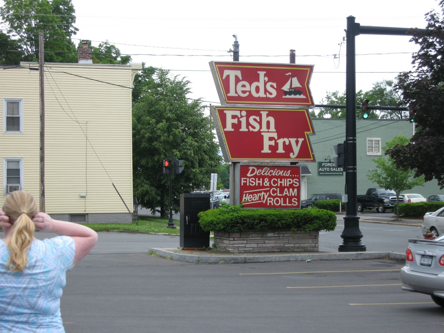 Derryx dines revisited ted s fish fry for Ted s fish fry menu