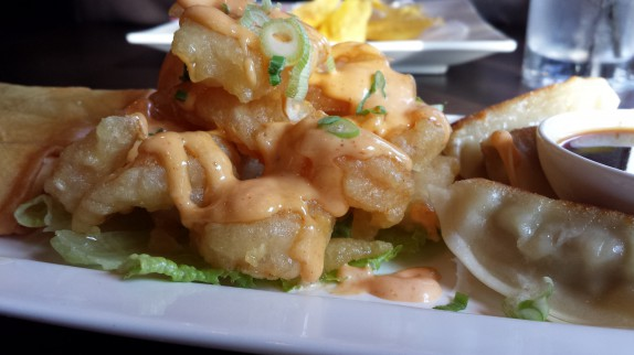 Spicy Crunchy Shrimp served with spicy mayo