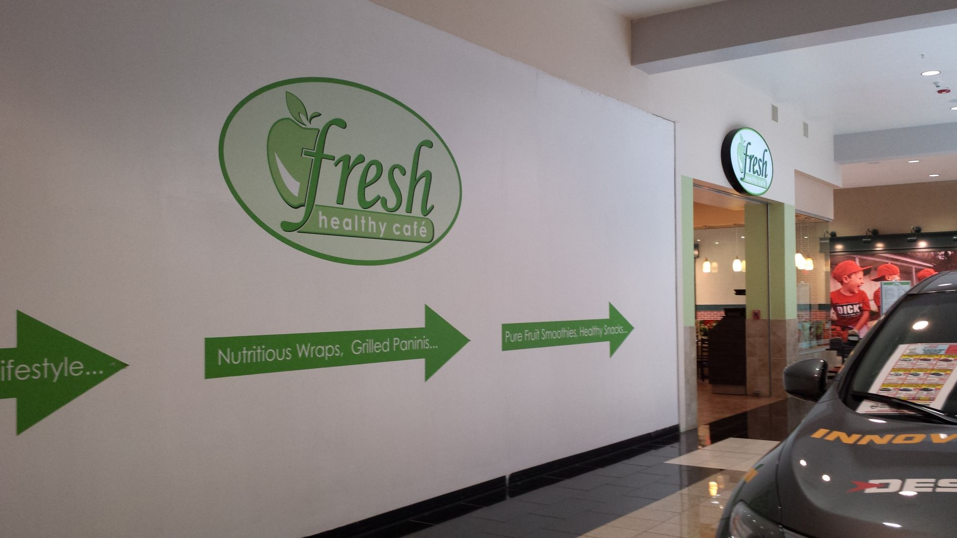 Fresh Healthy Cafe Crossgates Mall Menu