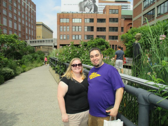 Jerry and Cassie at the High Line