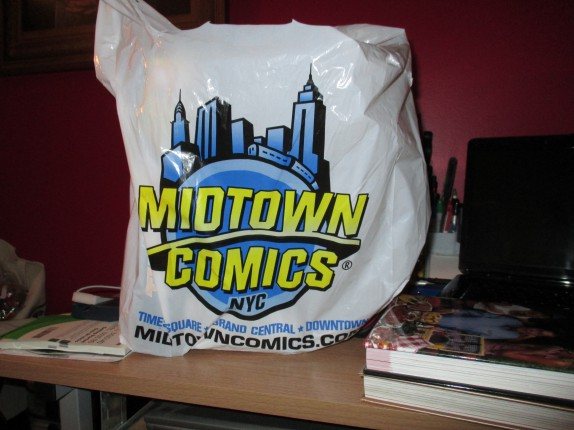 Midtown Comics bag