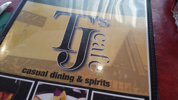 TJ's Cafe Menu