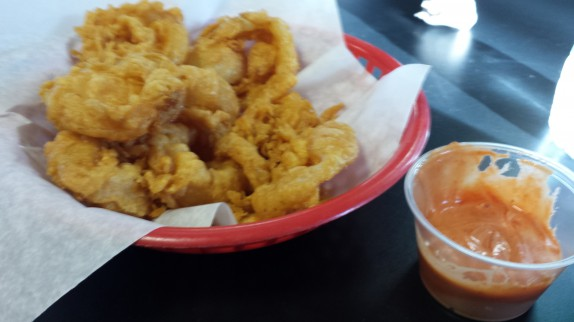 Onion Rings at Dave's