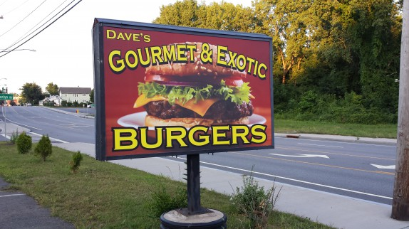 Dave's Gourmet Exotic Burgers
