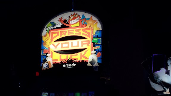 Press your luck machine