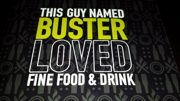 This guy Buster loved fine food and drink