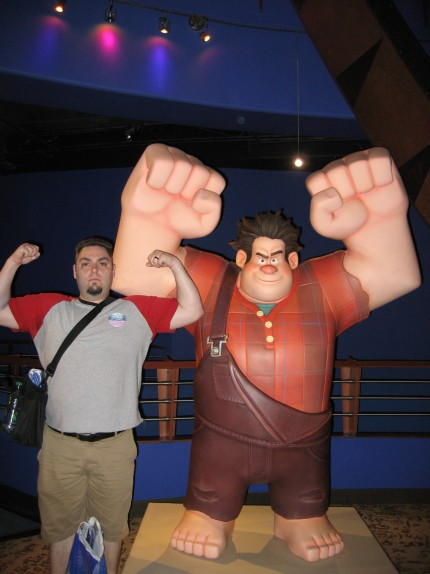 Me with Wreck it Ralph