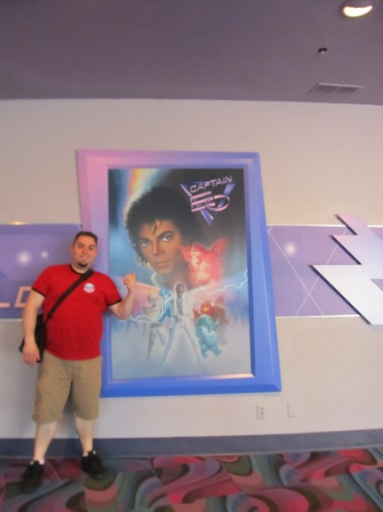 derryX and Captain EO