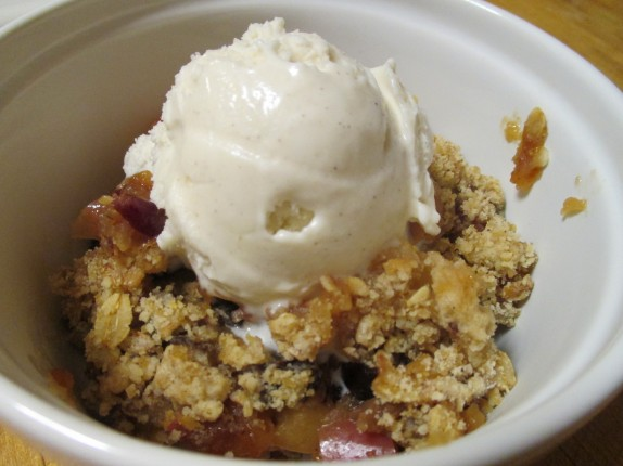 Ramsay's Apple Crumble