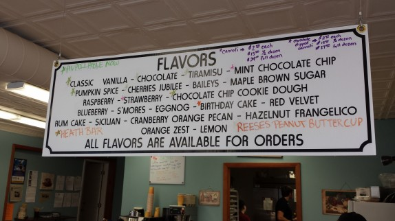 The flavors that are starred are currently available.