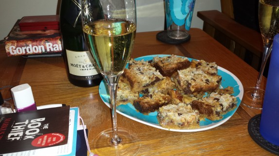 Champagne and Magic Bars