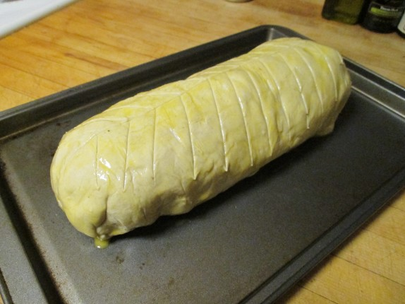 Glazed wellington