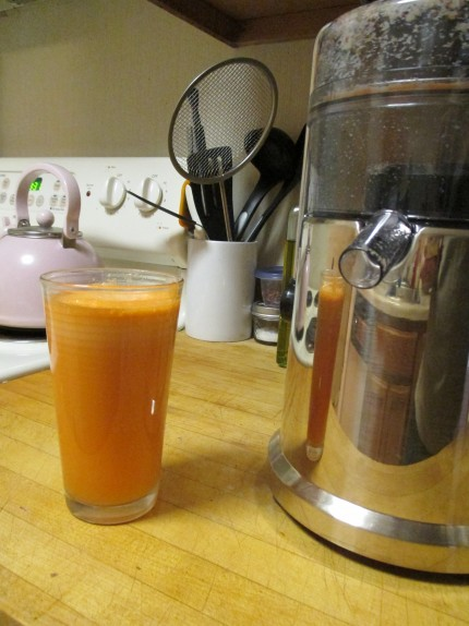 Carrot, apple, ginger