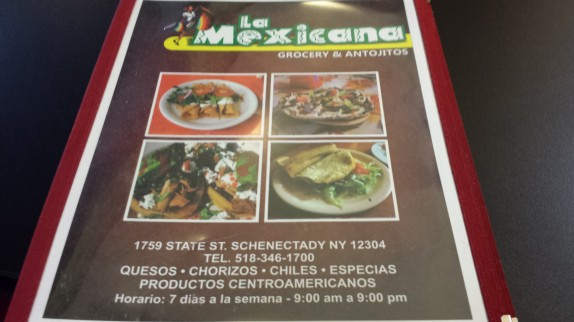 La Mexicana Grocery menu