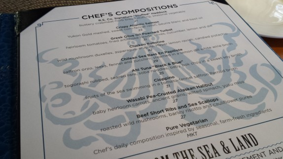 Chef's compositions at Reel Seafood Co