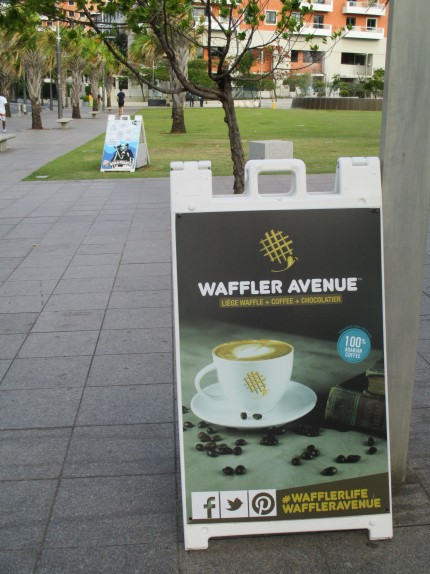 Outside of Waffler Avenue