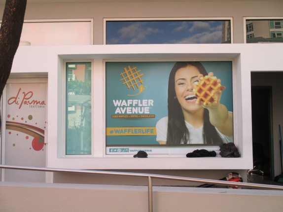 Waffler Avenue Billboard