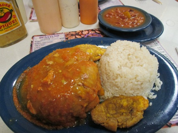 Mofongo at Cafe Manolin