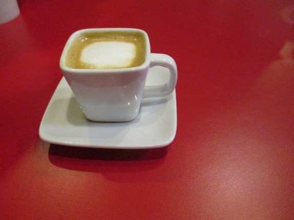 Cafe Cortado from The Poet's Passage