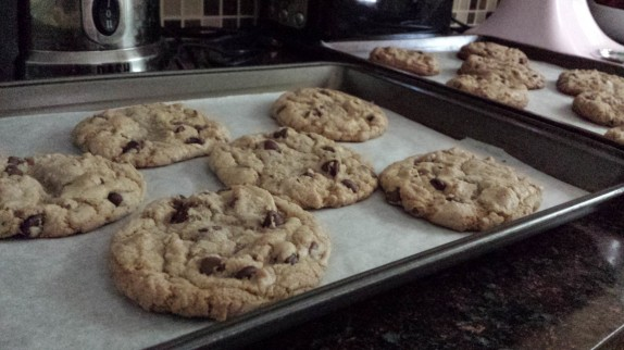 Cassie's chocolate chip cookies