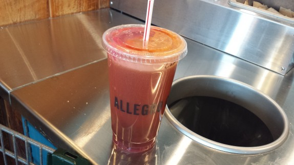 carrot, apple, kale, ginger, beet