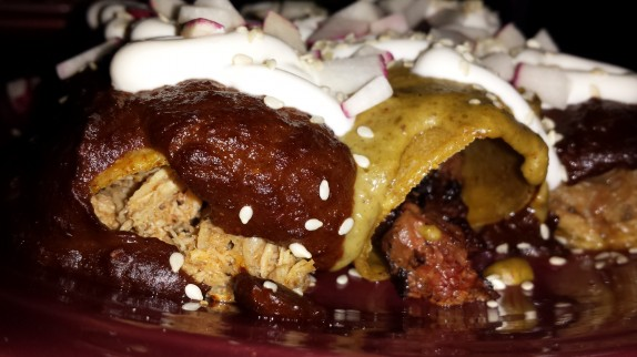 Triple Enchiladas Mole