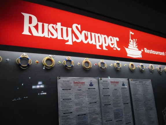 Rusty Scupper Menu