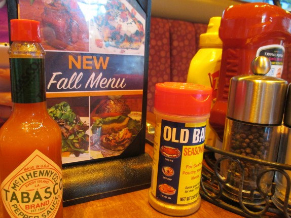 Miss Shirley's Table Top Fall Menu