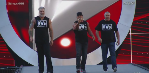 the nWo at Wrestlemania 31