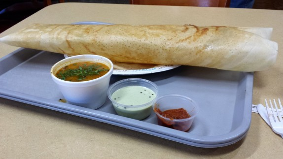 Masala dosa at Parivar