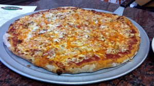 Whole Wheat Buffalo Chicken Pizza from Pizza Buono